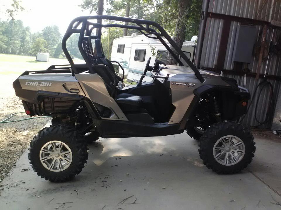 Can Am Commander 6 Inch Lifts Review