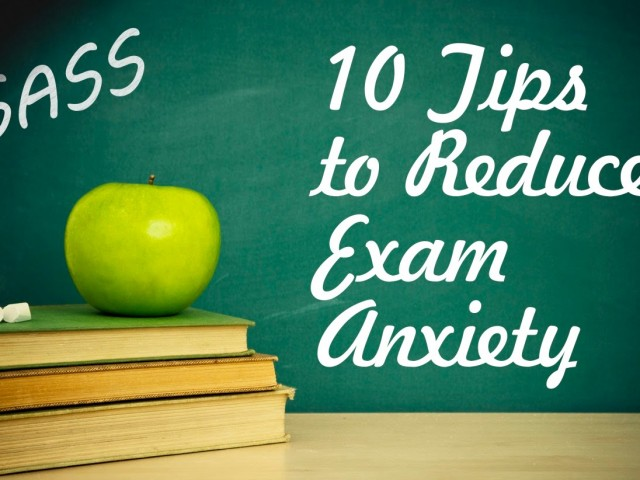 5 College Test Anxiety Cures