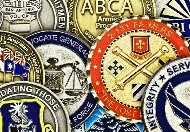 Challenge coins from Aspinline