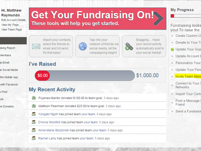 The Fundraising Result