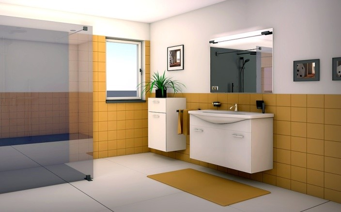 How To Design A Tile-free Bathroom