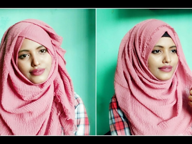 BUY CRINKLE HIJAB TO HAVE A CHIC LOOK