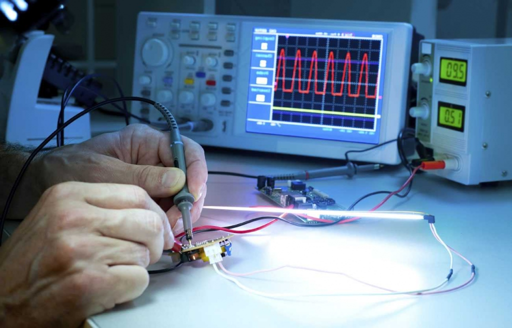 Electronic products testing