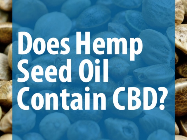 DOES HEMP OIL CONTAIN CBD And Other Products