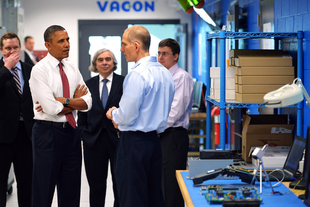 Obama's Plans For 6 Tech Manufacturing Hubs