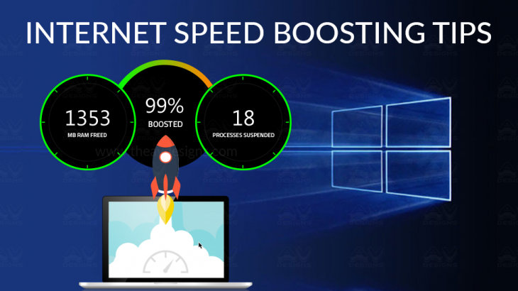 internet speed boosting